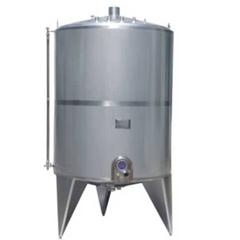 Single layer stainless steel storage tank